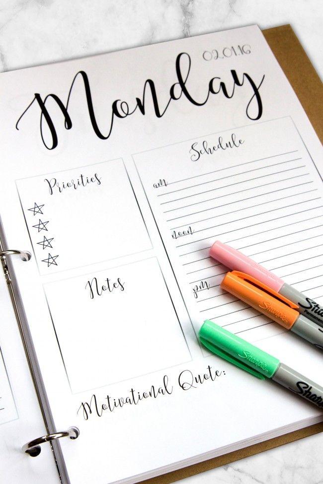 1000+ Ideas About Teacher Planner On Pinterest
