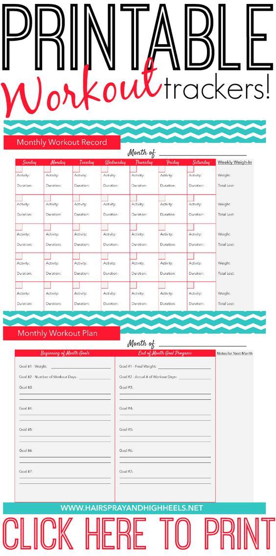 1000+ Ideas About Workout Calendar On Pinterest