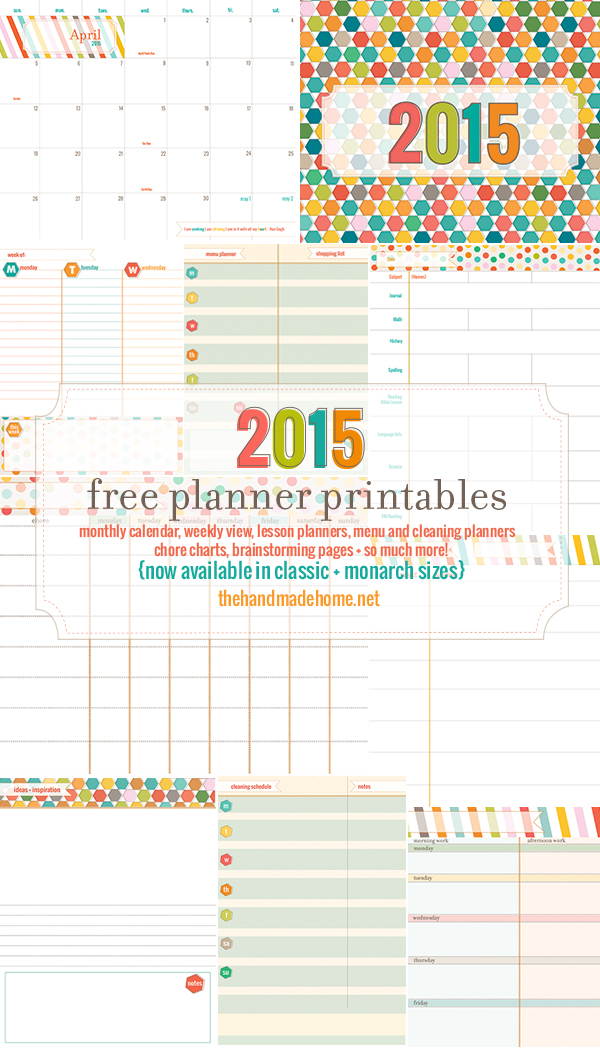 15 Free Printable 2015 Calendars To Kickstart The New Year