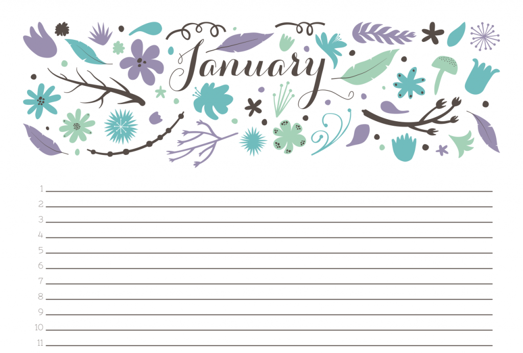 15 Of The Best Printable 2014 Calendars
