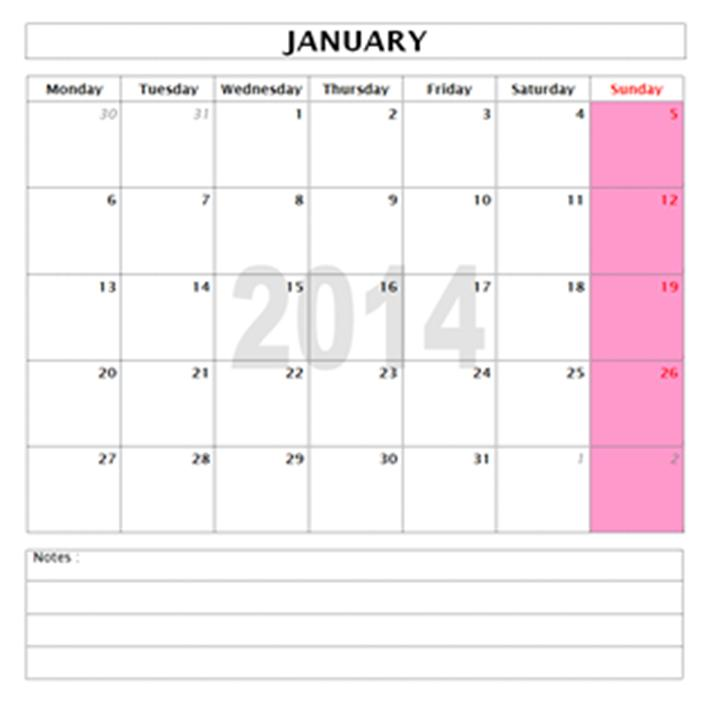 2015 Year And Monthly Calendar Templates