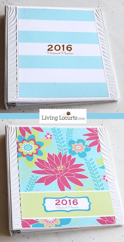 2016 Printable Personal Planner & Calendar