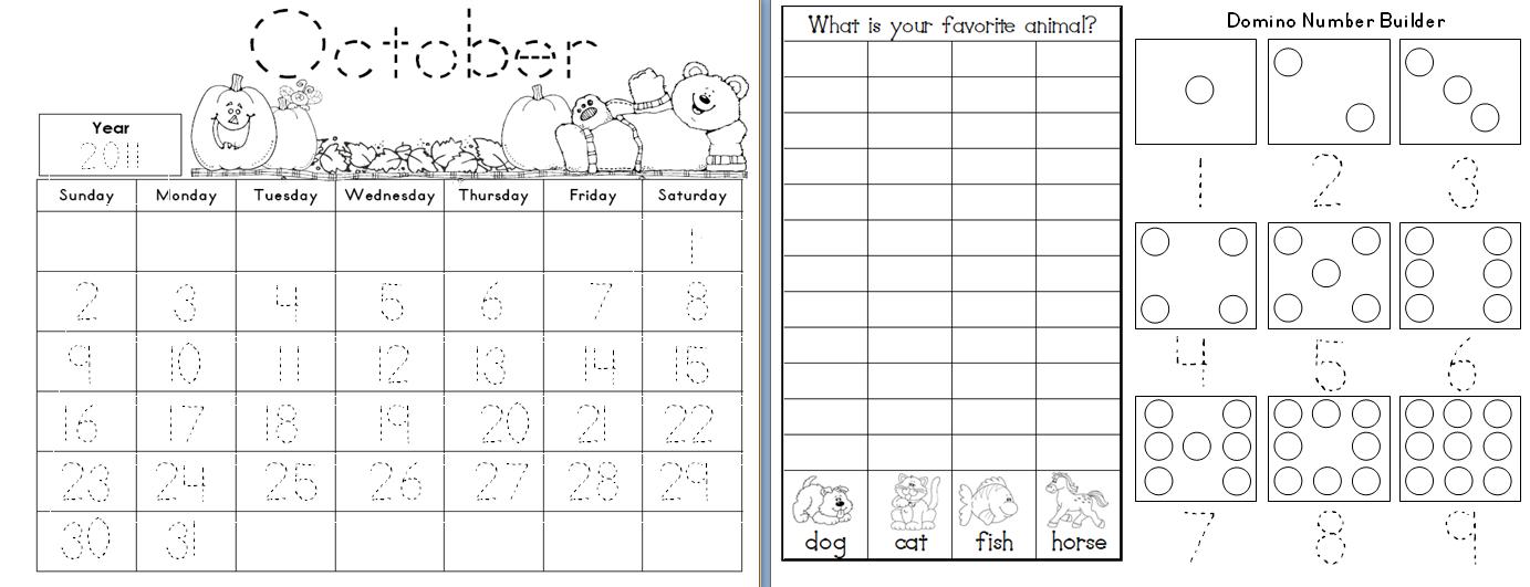 4 Best Images Of Kindergarten Calendar Math Printables