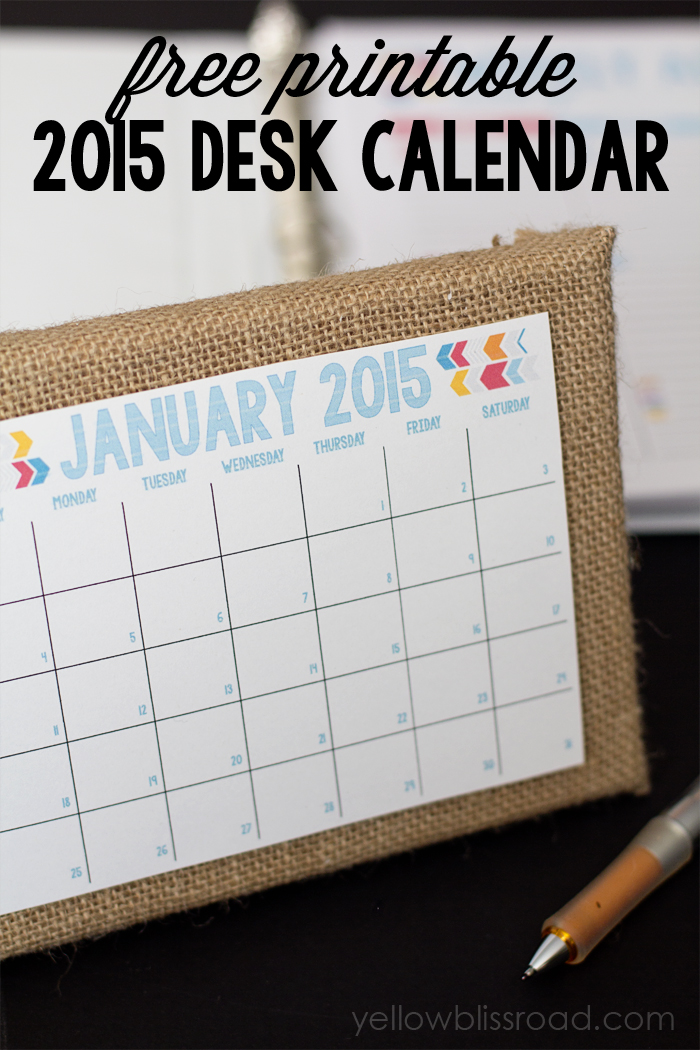 50+ 2015 Free Printable Calendars