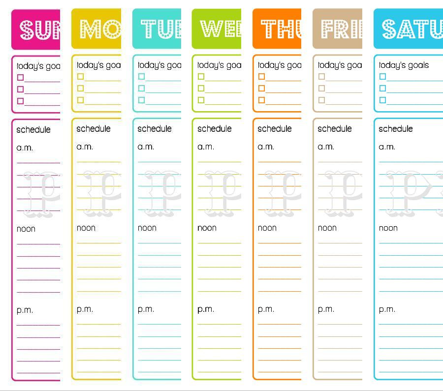 8 Best Images Of Printable Daily Planner Calendar