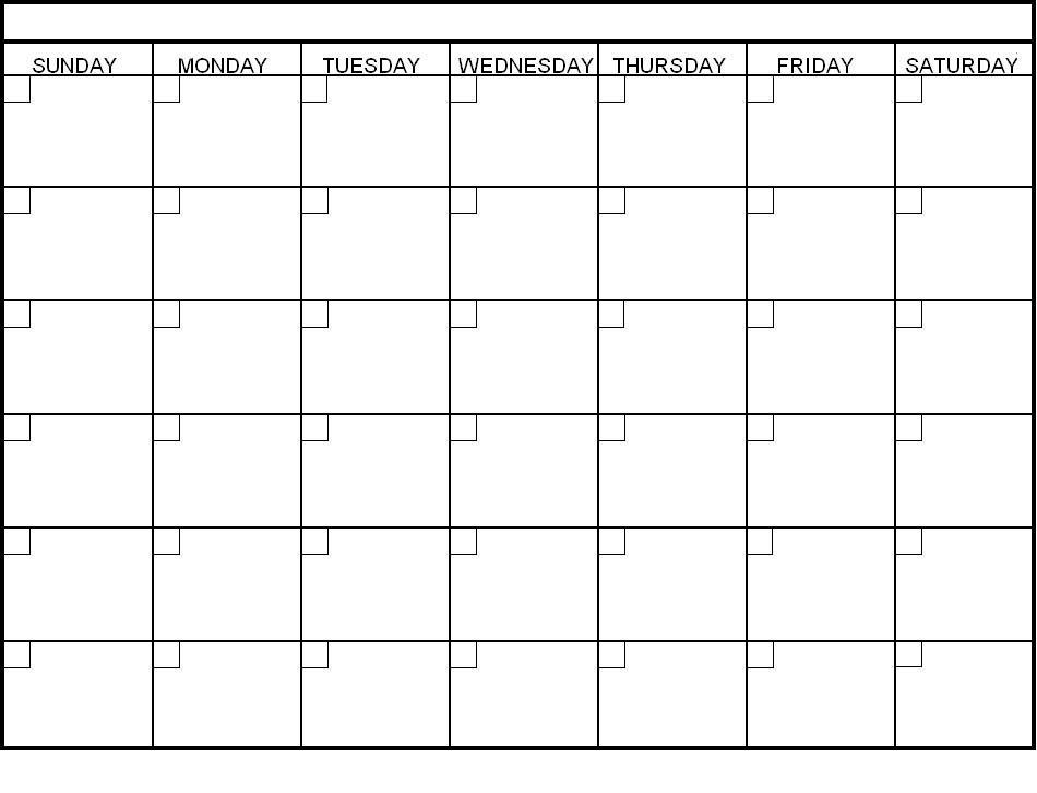 Calendar Template
