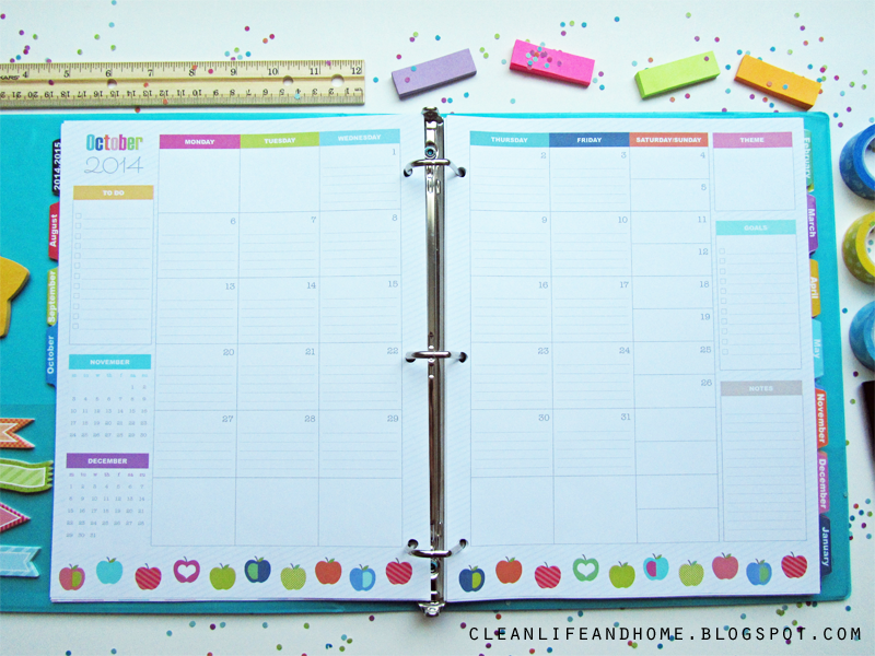 Clean Life And Home  The Teacher Planner!