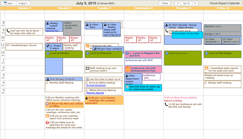 free online schedule maker for employees
