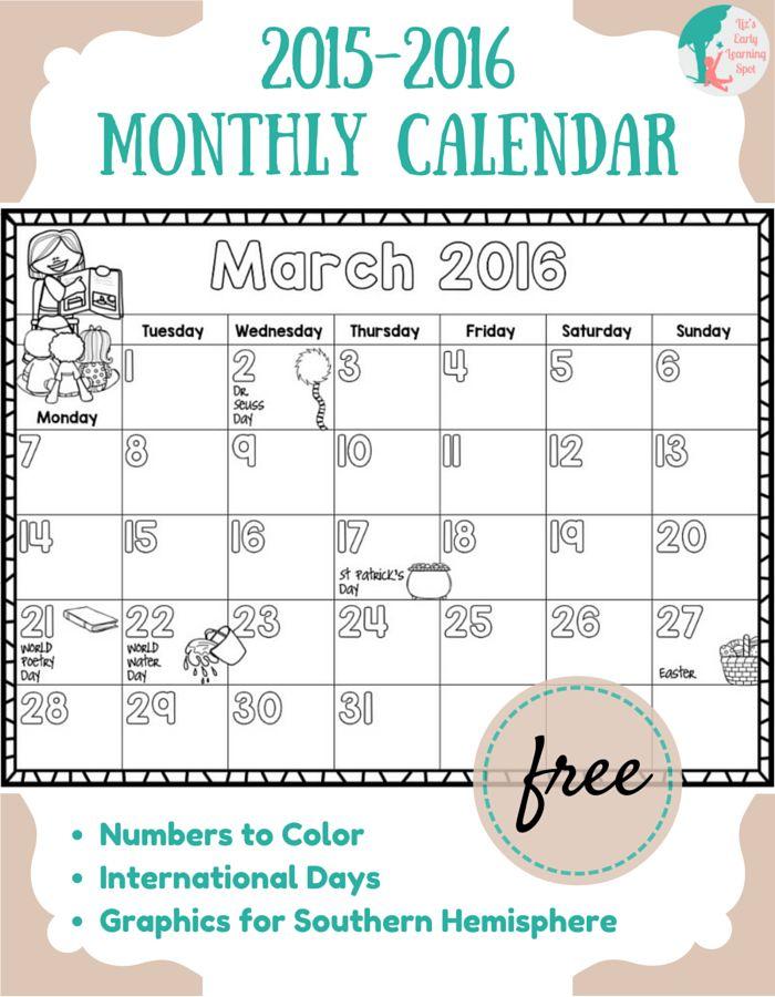 Printable Homework Calendar » Calendar Template 2017