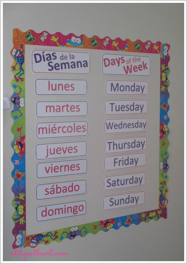 Free} Calendar Printables (english And Spanish)