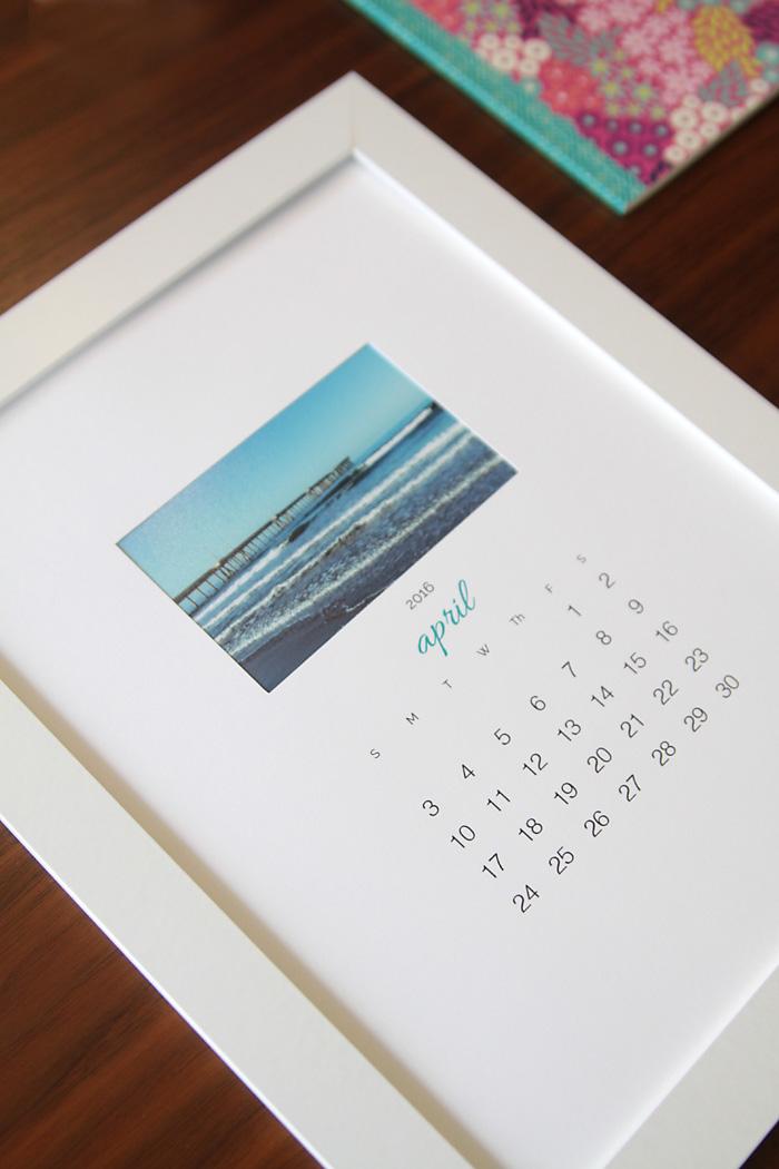 Free Printable 2016 Photo Calendar {great Diy Gift Idea!}