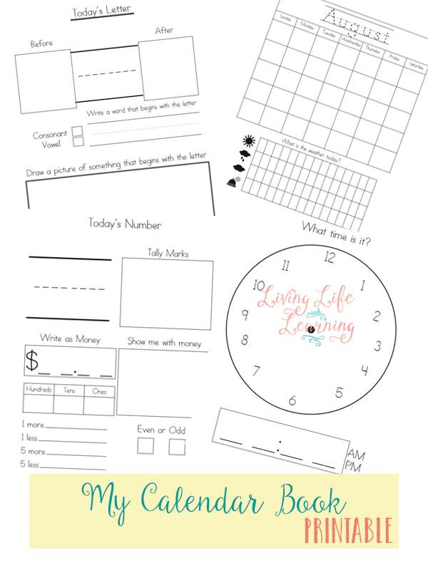 Free Printable Calendar Book