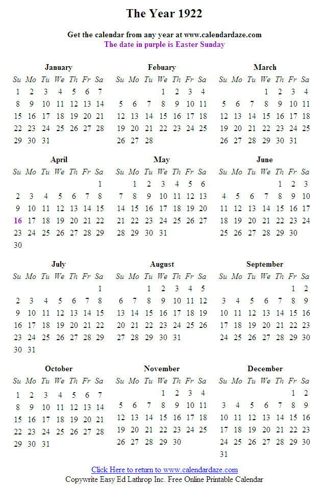 Free Printable Calendar Full Windows 7 Screenshot