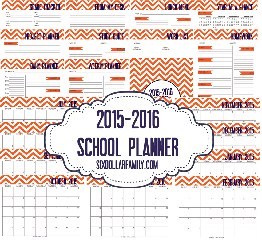 print out school schedule