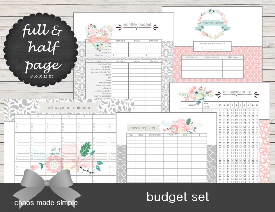 Bill Calendar Printable  Calendar Template
