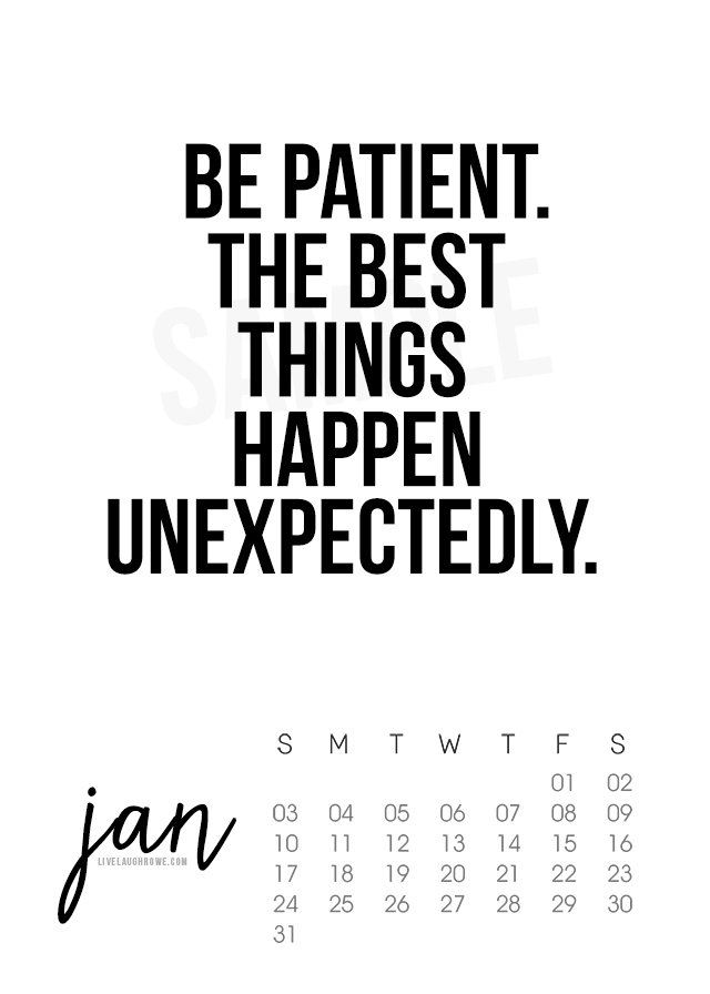 January 2016 Printable Calendar