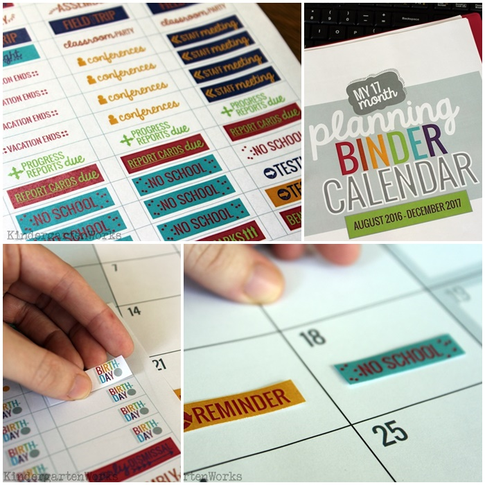 Calendar Printables For Teachers : Teachers printable calendar template