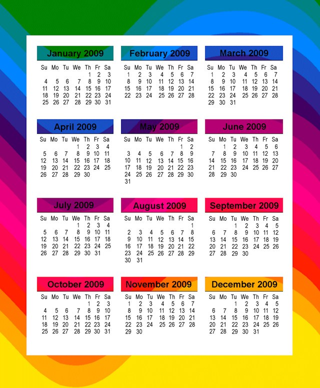 Design Your Own Calendar : Design your own printable calendar template