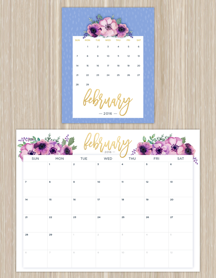Printable Wall Calendar » Calendar Template 2017