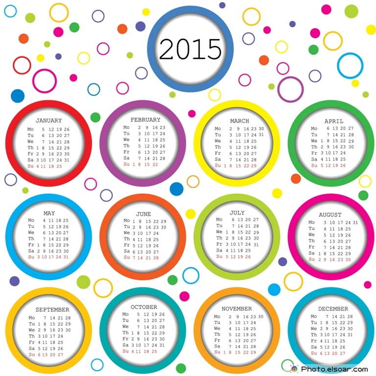 free printable 2015 calendar with holidays