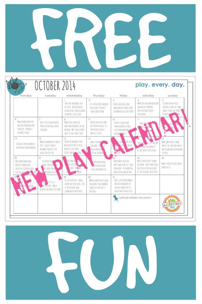 1000+ Images About Printable Calendar Activities ( Free Resources
