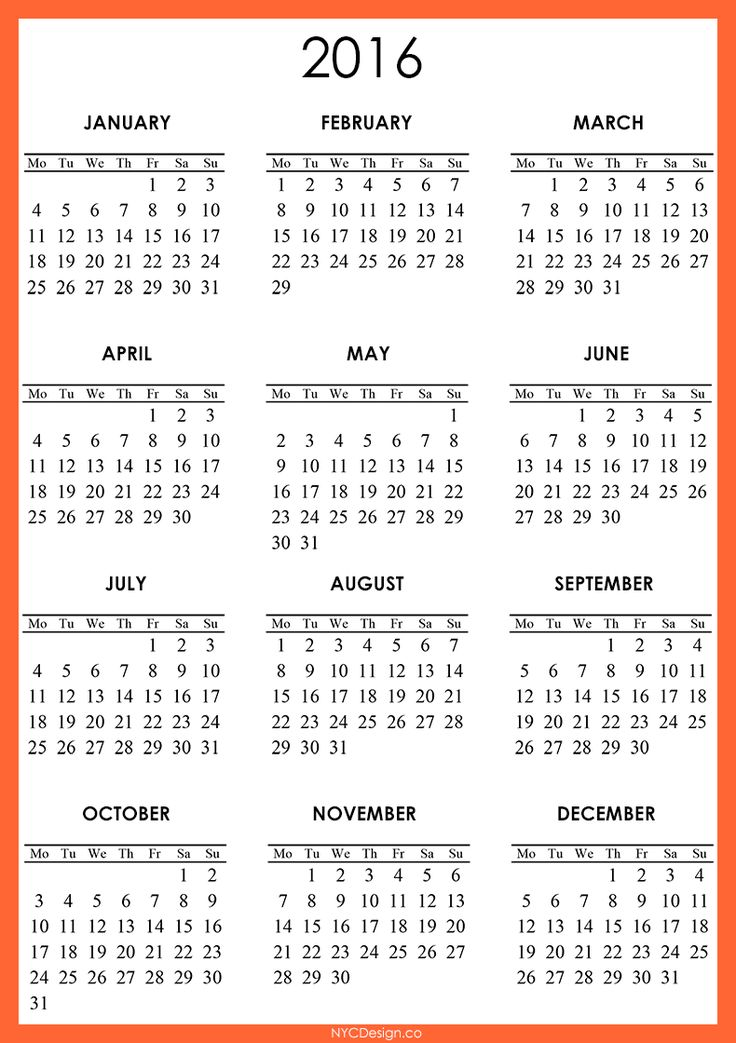 1000+ Images About Printable Calendar On Pinterest