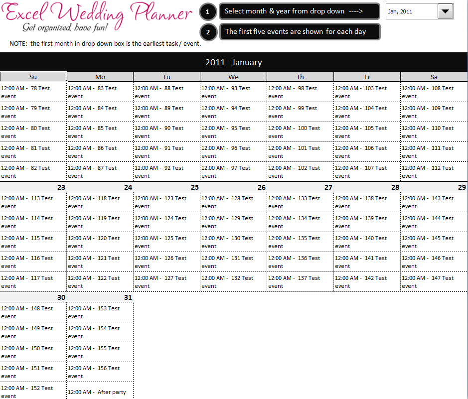 7 Best Images Of Wedding Planning Calendar Printable