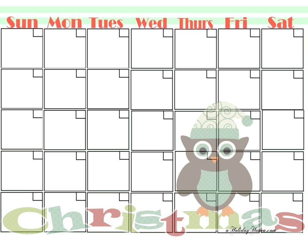 Calendar Printables Cute : Cute printable calendars calendar template