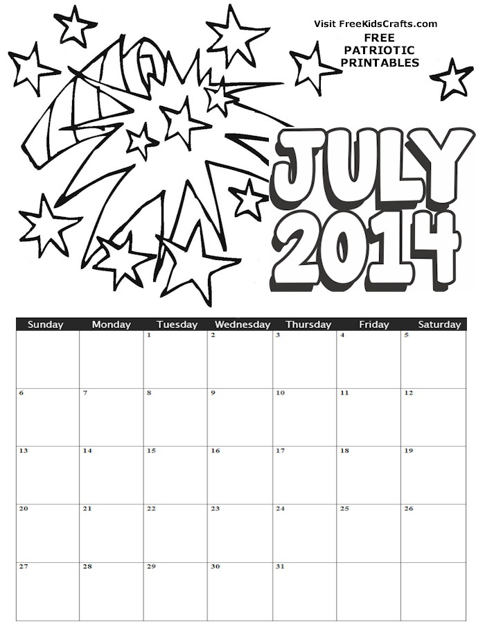 8 Best Images Of Kids Free Printable Vacation Calendar