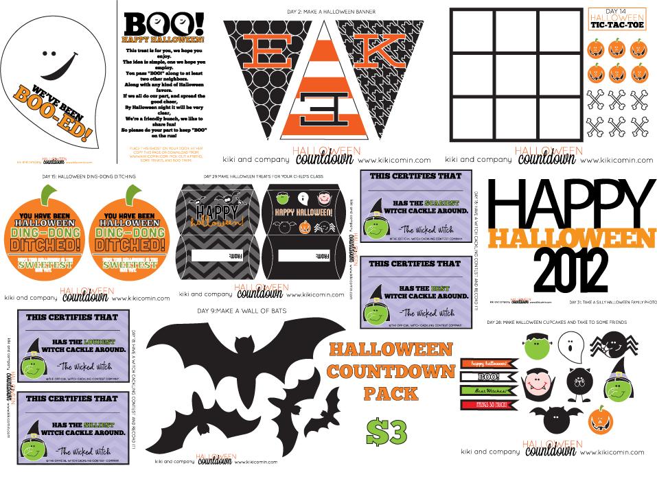 A Halloween Countdown