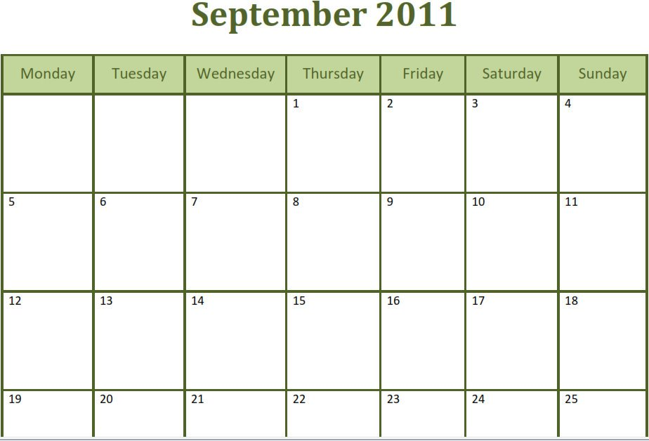 Android Calendar Calendar Day Of Week