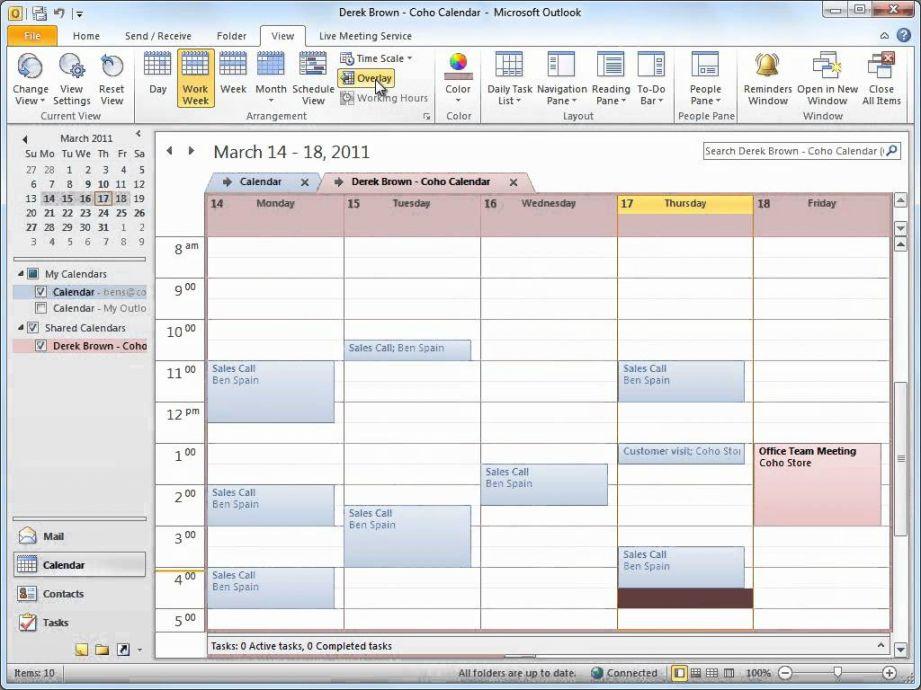 Calendar Template Office 2010