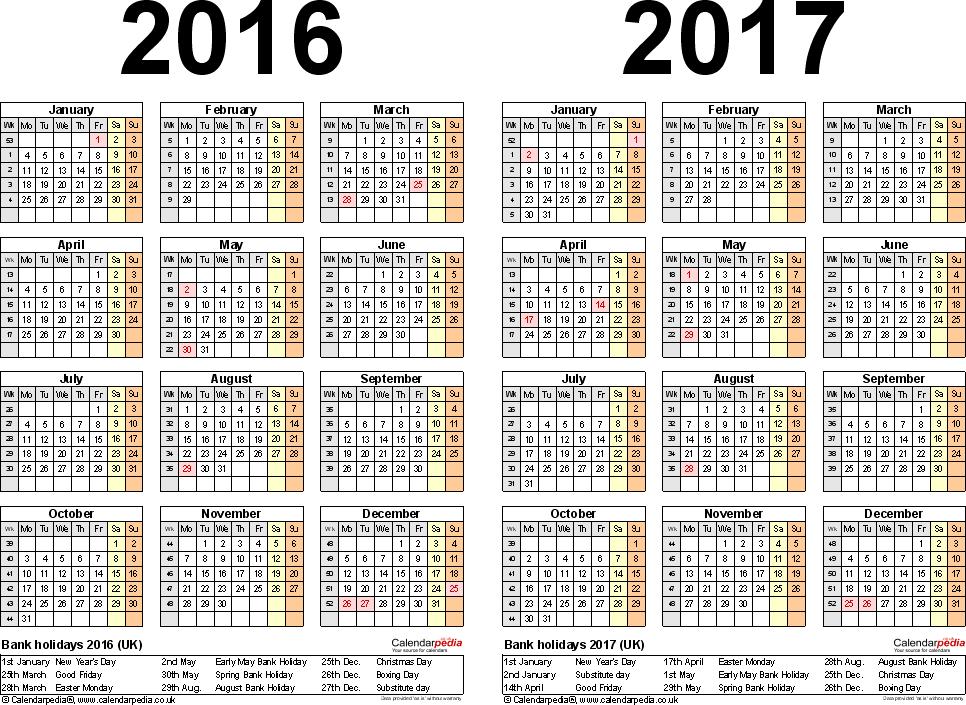 Chinese Lunar Calendar 2017