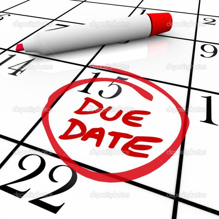 Due Date Calendar Baby Center