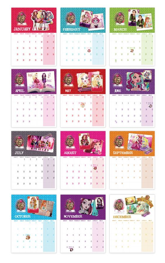 Ever After High Printable