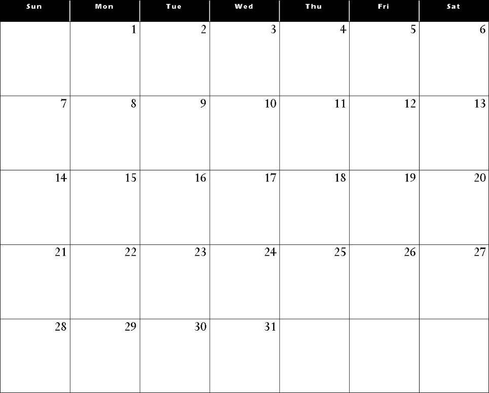 Free Printable December Calendars Waterproof Paper