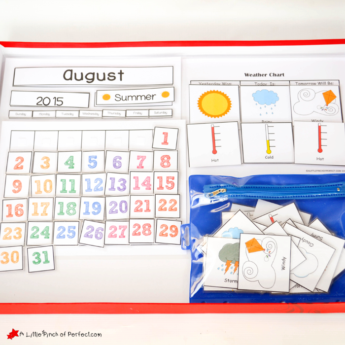 Free Printable Weather Chart For Home Or School