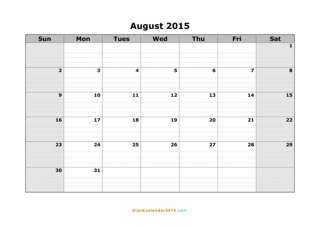 Free Word Calendar