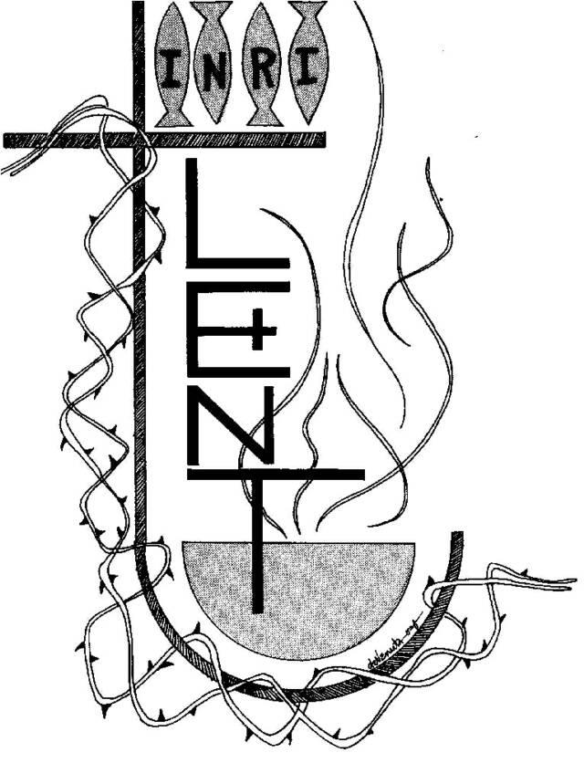 Lent Clipart Printable Calendar Template