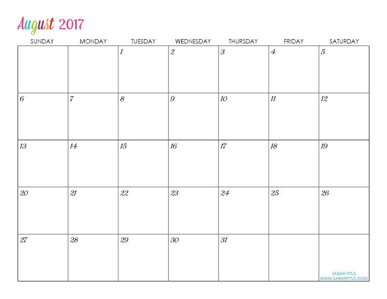 Make Printable Calendars Online Free