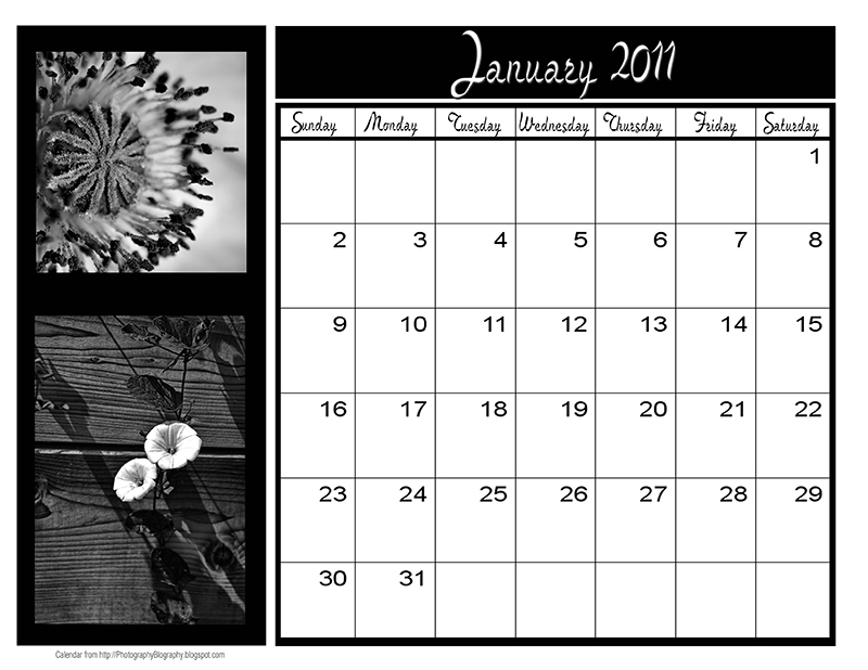 Design Your Own Calendar : Create your own printable calendar template