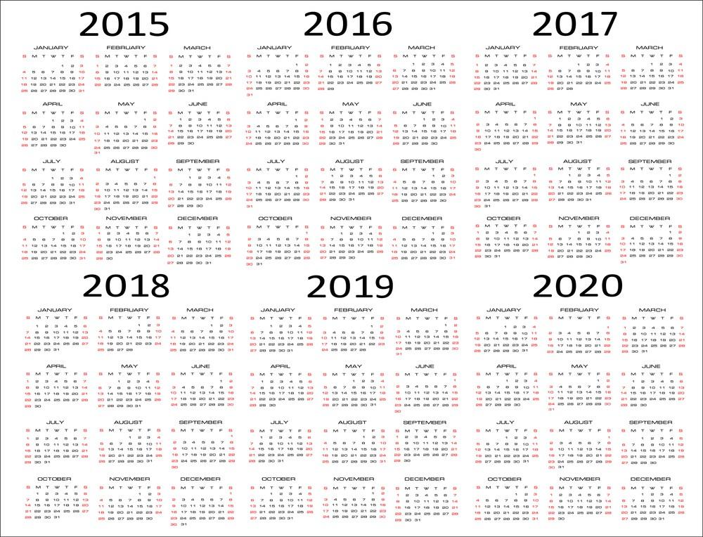 Printable Calendar Vertical