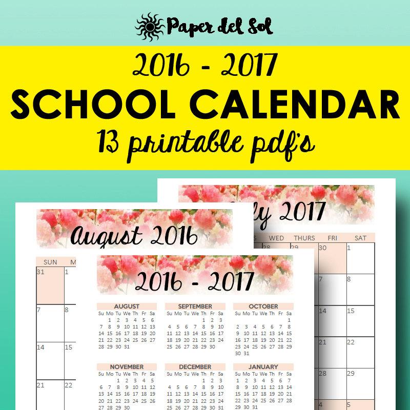 School Planner 2016