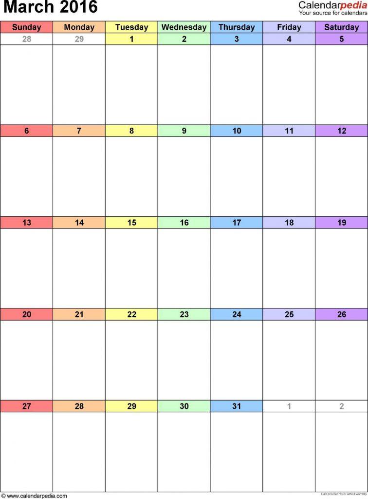 Win Calendar Printable