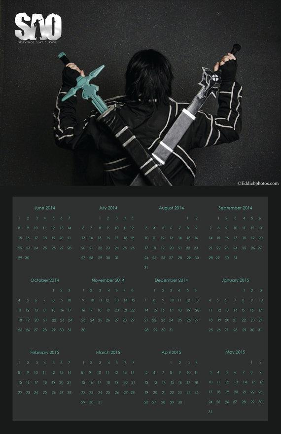 11x17 Printable Calendar Digital By Whyhellosunshine On Etsy
