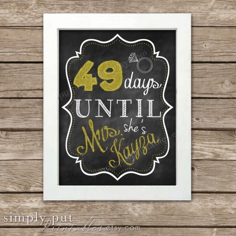 365 Day Calendar Countdown