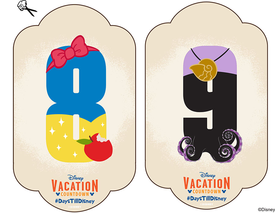 5 Best Images Of Disney Vacation Countdown Printable