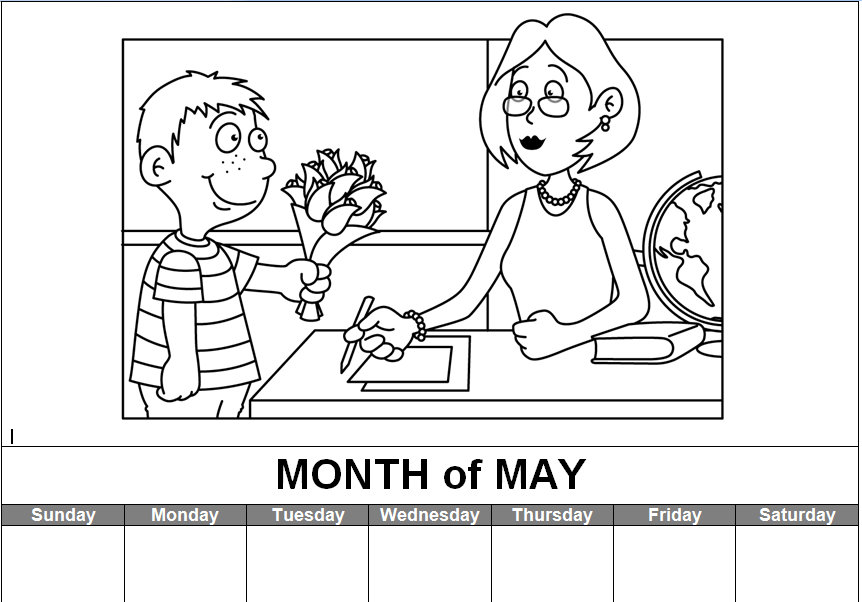 7 Best Images Of Printable Calendars Fill In
