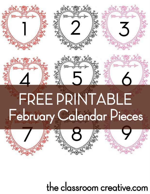 8 Best Images Of Free Printable Preschool Calendar Pieces