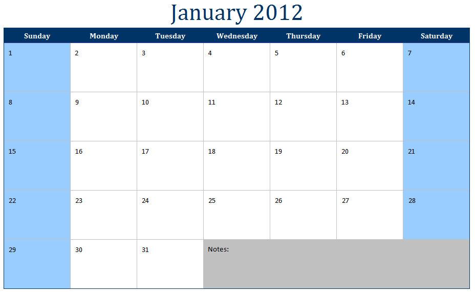 Best Photos Of Monthly Calendar Template Excel